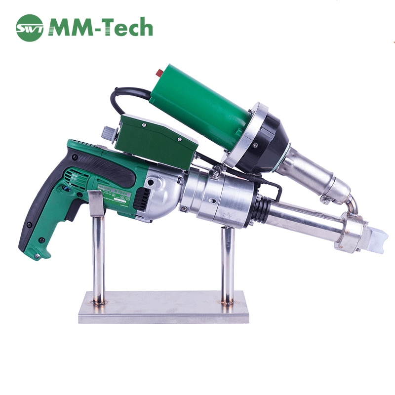SWT-NS600A 1-20 revestimiento mm HDPE extrusión de la máquina de soldadura con 3-5mm varilla de soldadura