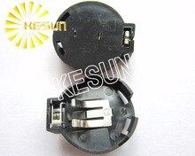 Support de pile   100 pièces, bouton de trempage pour pile à boutons CR2430 CR2450