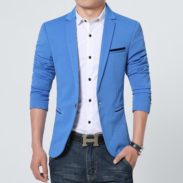 NEW Slim Fit Fashion Blazer 4