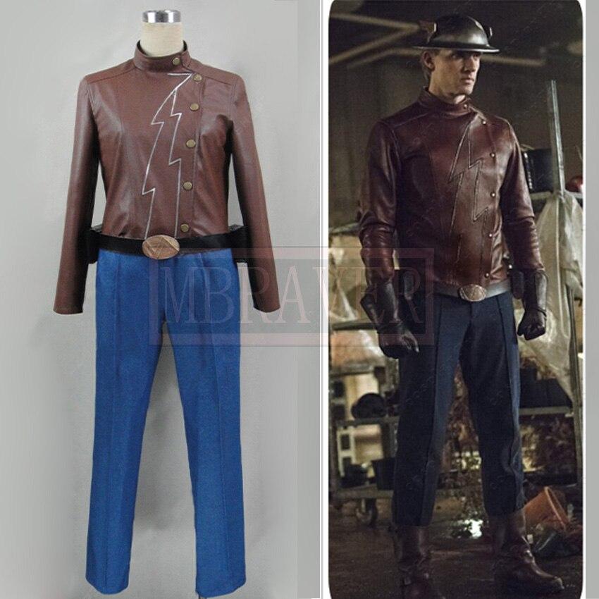 O flash temporada 2 jay garrick cosplay costume feito