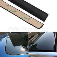 Водостойкие резиновые уплотнительные ленты, 5 метров, обшивка для авто, переднее, заднее, лобовое стекло, солнечная крыша, треугольная кромка окна, уплотнительная лента