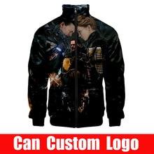 Gran oferta, chaqueta de juego Death Stranding Luden, sudadera con cremallera, chaqueta, abrigo, trajes, 2019, nuevo bombardero para hombre