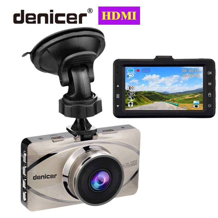 Registrador completo hd 1080 p g-sensor da detecção de movimento da came do traço do carro gravador de vídeo de novatek 170 graus dvr do carro