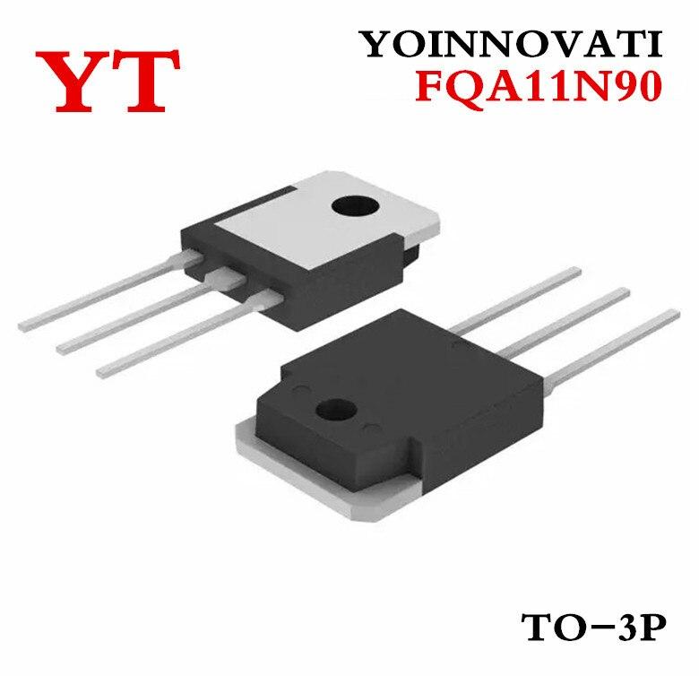 10 unids/lote FQA11N90 FQA11N90C 11N90 N-CH 900V 11A TO-3P mejor calidad ic