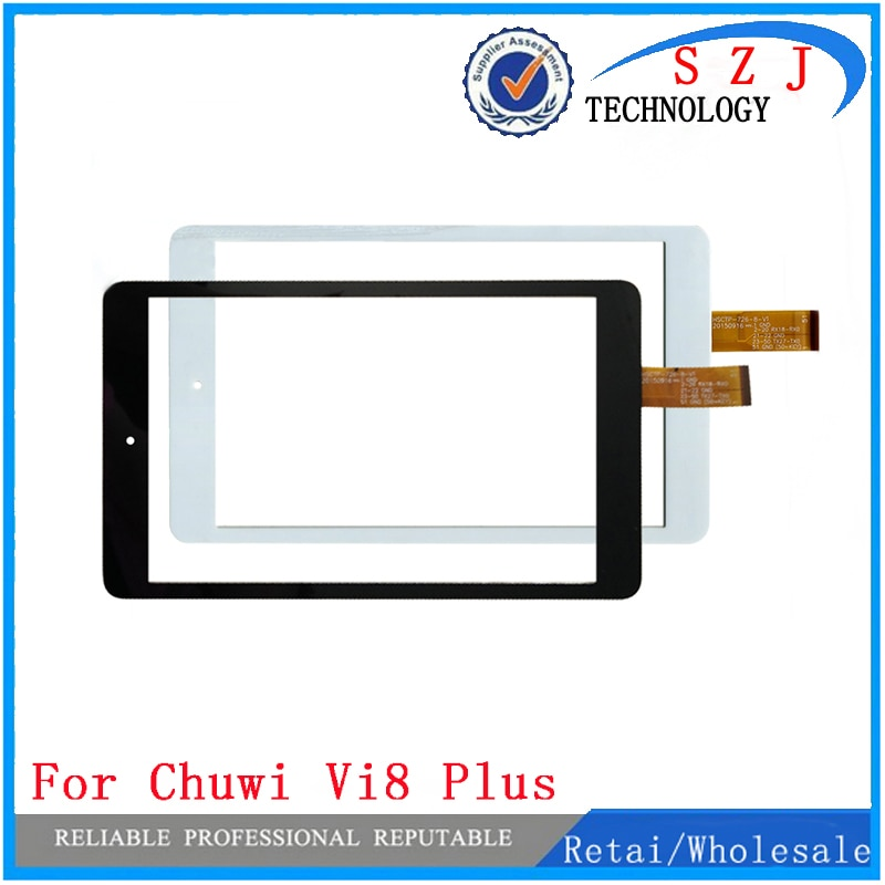 Nuevo 8 pulgadas para Chuwi Vi8 Plus Tablet Panel de pantalla táctil digitalizador Sensor reemplazo envío gratis