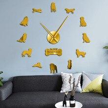 Horloge murale, chien Berner Sennenhund diy   Grande montre murale, bovin Berner Sennenhund, style pédomètre, pour la maison