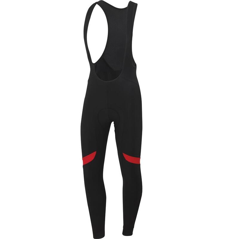 Emonder-Pantalones largos de Ciclismo para hombre, medias térmicas de lana con almohadilla...