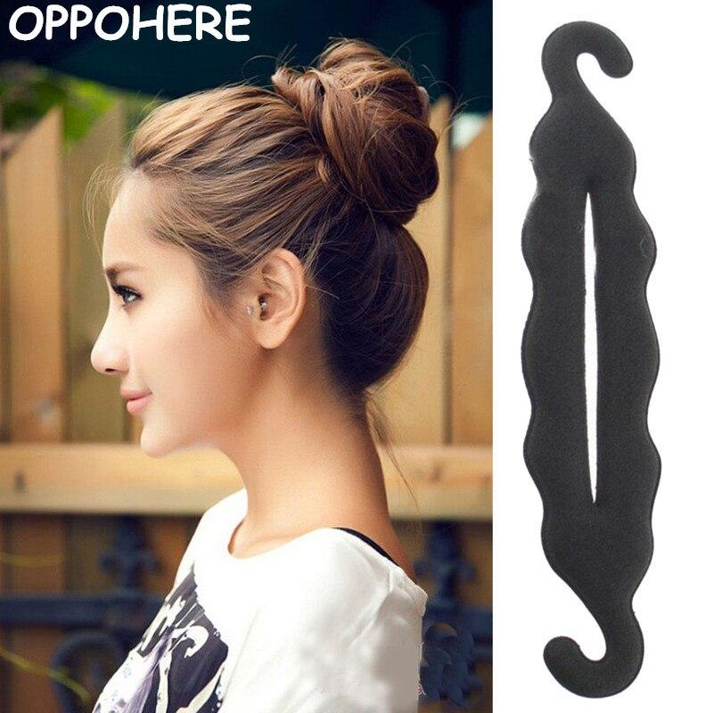 Twist Styling Magic Hair Styling Bun Hairpins Hairdisk Meatball Head Rubber Clip Hair Accessories Fo