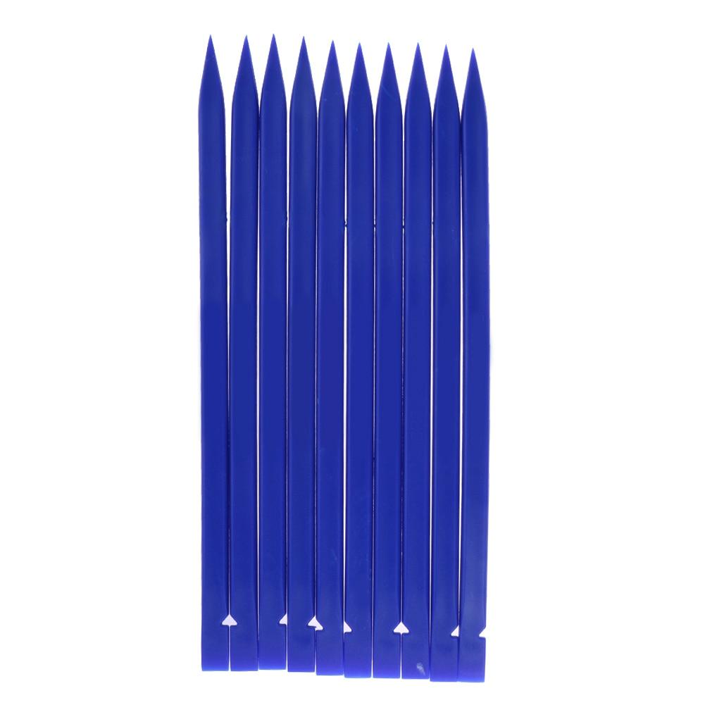 Universal 10 unids/set plástico Spudger Blue Stick teléfono móvil abrir palanca herramienta de reparación para iPhone para iPad Laptop NG4S