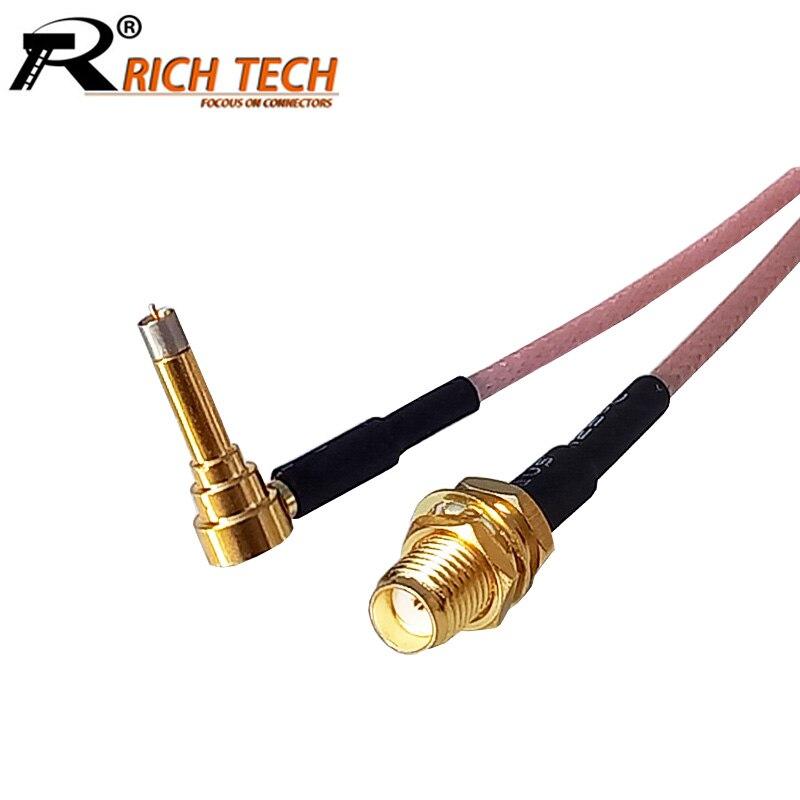 Interruptor 3 1 pçs/lote RF conector SMA Fêmea G Modem Conjunto de Cabo Conector Para LTE Yota Um LU150/Huawei E1550 E171 E153/ZTE MF10