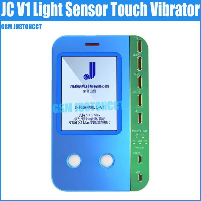 Vibrador táctil con Sensor de luz JC V1 para IPhone Xs XsMax X 8Plus 8 7Plus 7, recuperación de datos de escritura Multi Read todo en un solo programa