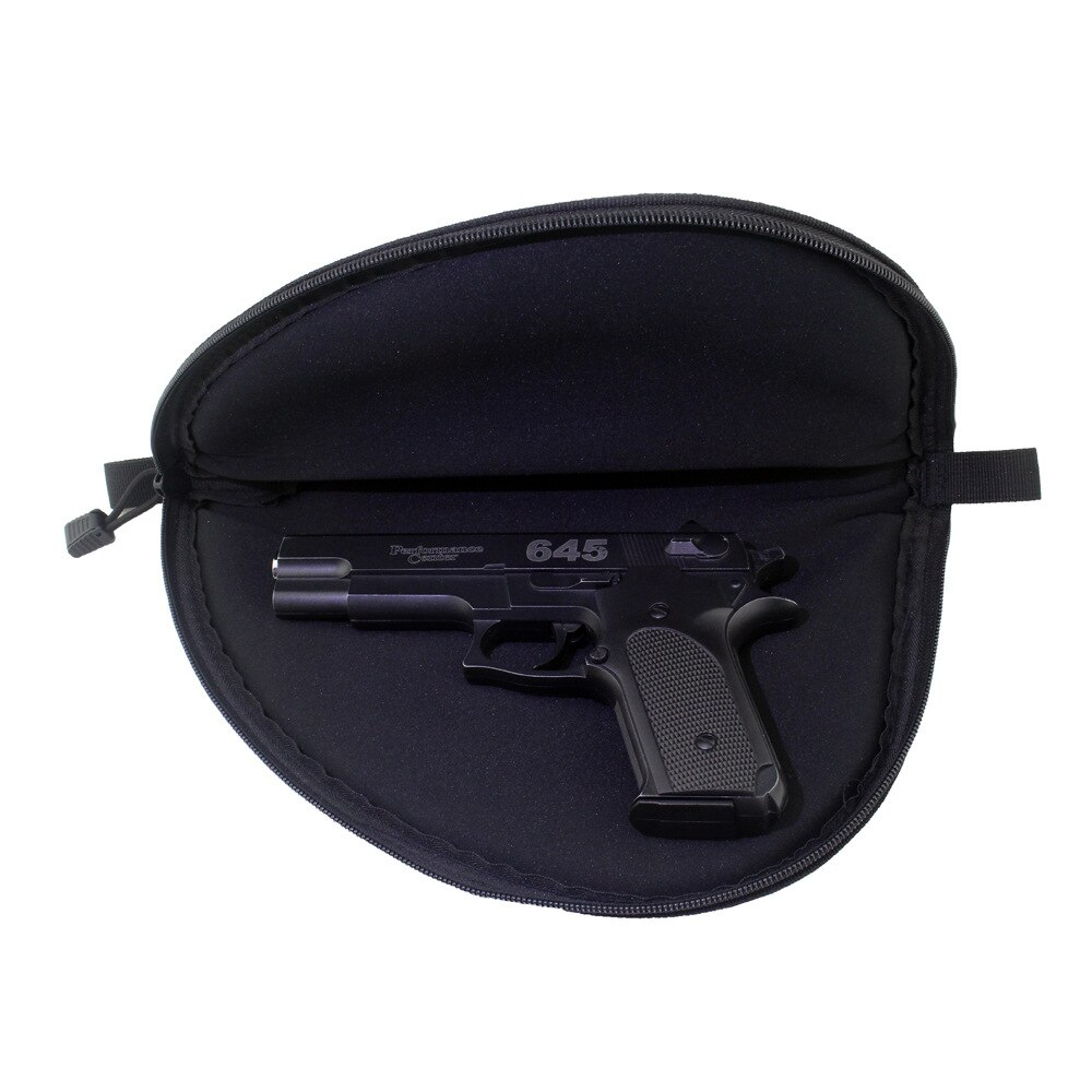Saco de pistola tático portátil airsoft carry coldre caso armazenamento para glock 17 18 19 22 23 m1911 p229