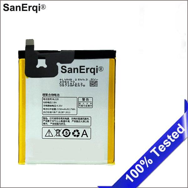SanErqi BL220 2150 mAh batería nueva para Lenovo S850 S850T teléfono celular BL220 batería incorporada