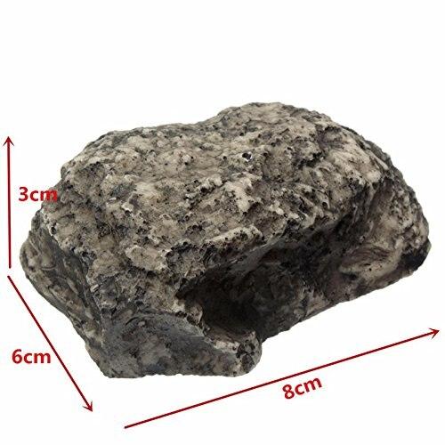 Caja de llave roca oculta en piedra de seguridad almacenamiento seguro escondido al aire libre jardín calidad duradera