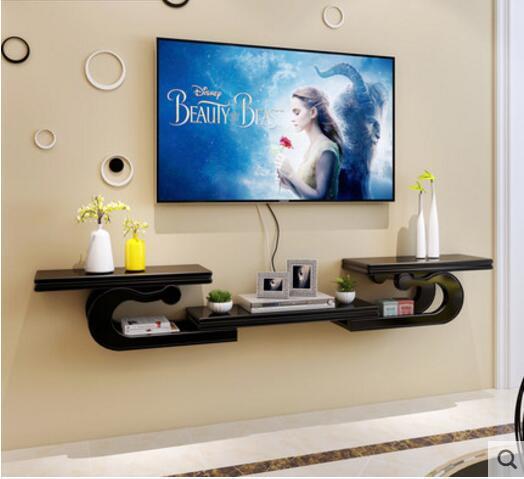 meuble tv mural europeen creatif etagere murale de salon etagere de tv murale decoration de partition