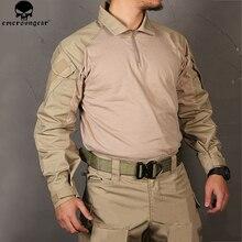 EMERSONGEAR Мультикам боевая рубашка одежда для охоты G3 BDU Airsoft тактическая emerson армейская Военная Wargame Мультикам черная рубашка
