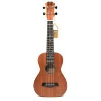 21 inch soprano uke 4 strings ukulele mahogany guita acoustic small small guitar solid body uke concert ukelele free shipping