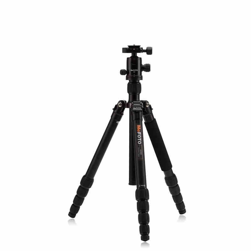 MeFOTO A2350Q2 GlobeTrotter 알루미늄 전문 삼각대 키트 DSLR 용 안정적인 볼 헤드가있는 휴대용 디지털 비디오 카메라 삼각대