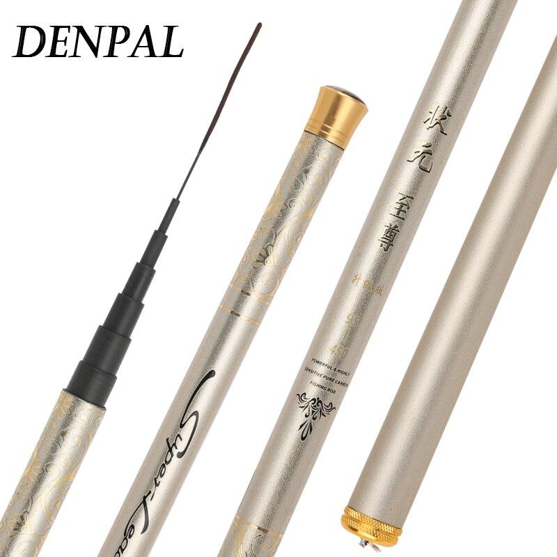 Super Light Hard Stream Fishing Rod 3.9/4.5/4.8/5.4/6.3M Carbon Fiber Hand Pole Easy Fishing Fish High Carbon High-quality Rod