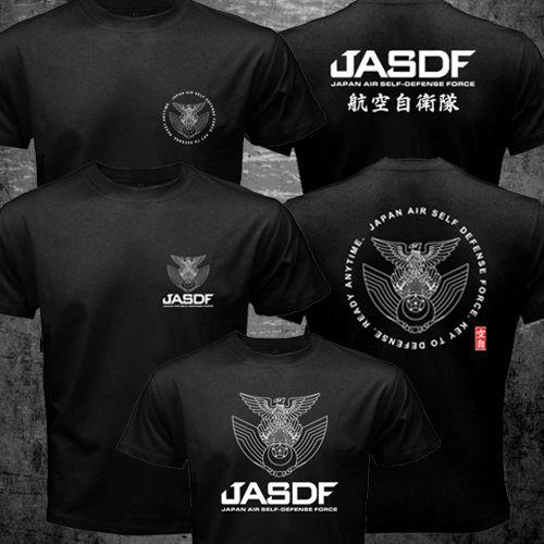 Camiseta especial japonesa de Autodefensa Aérea para hombres, Camiseta estampada con arte militar, de mano a mano, de talla grande S-3XL EE. UU.