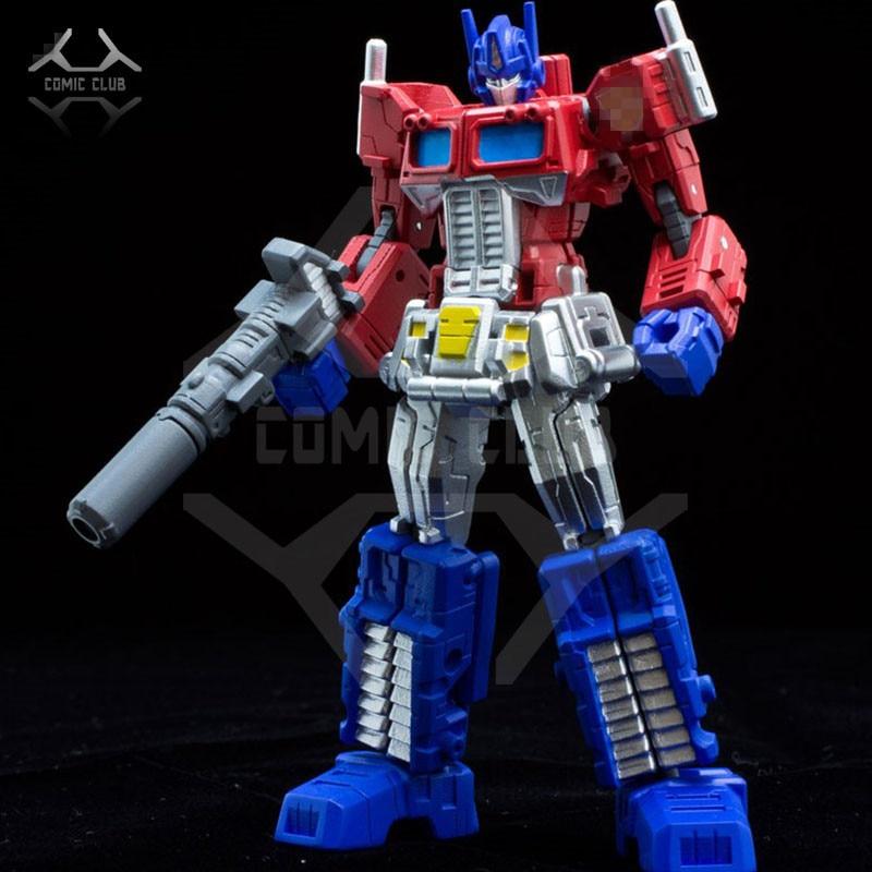 COMIC CLUB Sentinel Transformation robot TF Red Pen op