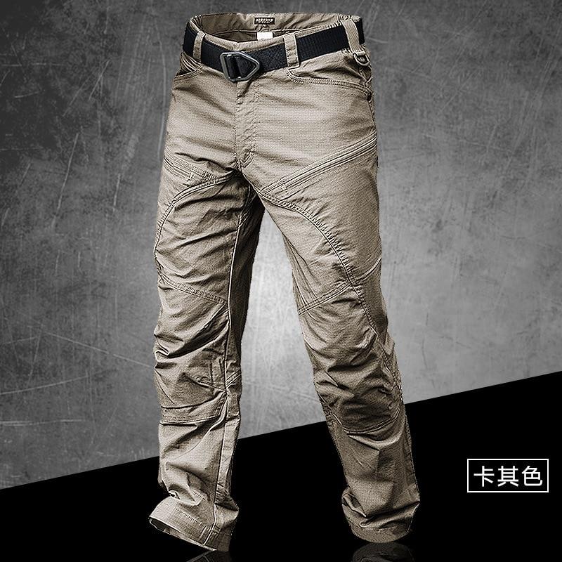 Pantalones tácticos para hombre, antidesgaste, impermeable, largos, para hombre, Trekking al aire libre, escalada, Camping, combate, pantalones militares