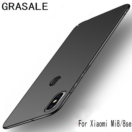 For Xiaomi Mi 8 8Se Case Hard PC Slim Coque Matte Skin Protective Back cover cases for xiaomi mi8 mi