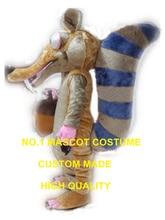 Hot Cartoon personnage écureuil mascotte costume avec gland adulte taille haute qualité écureuil thème carnaval déguisements kits 2489