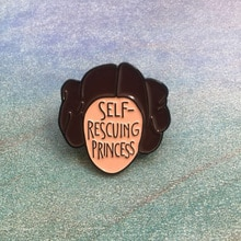 Star Wars aldérande Leia Organa Solo pierre émail broche série féminisme broche Badge bijoux féminins