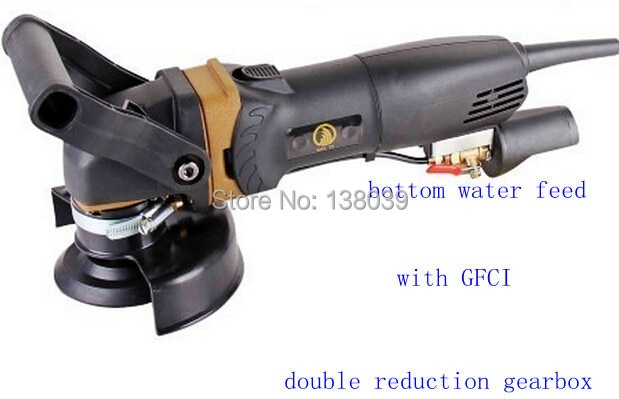 Wet Stone Polisher with double reduction gearbox enlarge