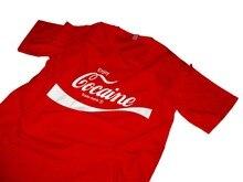 Profitez de t-shirt Coke t-shirt 2019 été offre spéciale coton bonne qualité marque coton Style Cool chemises drôle impression t-shirts