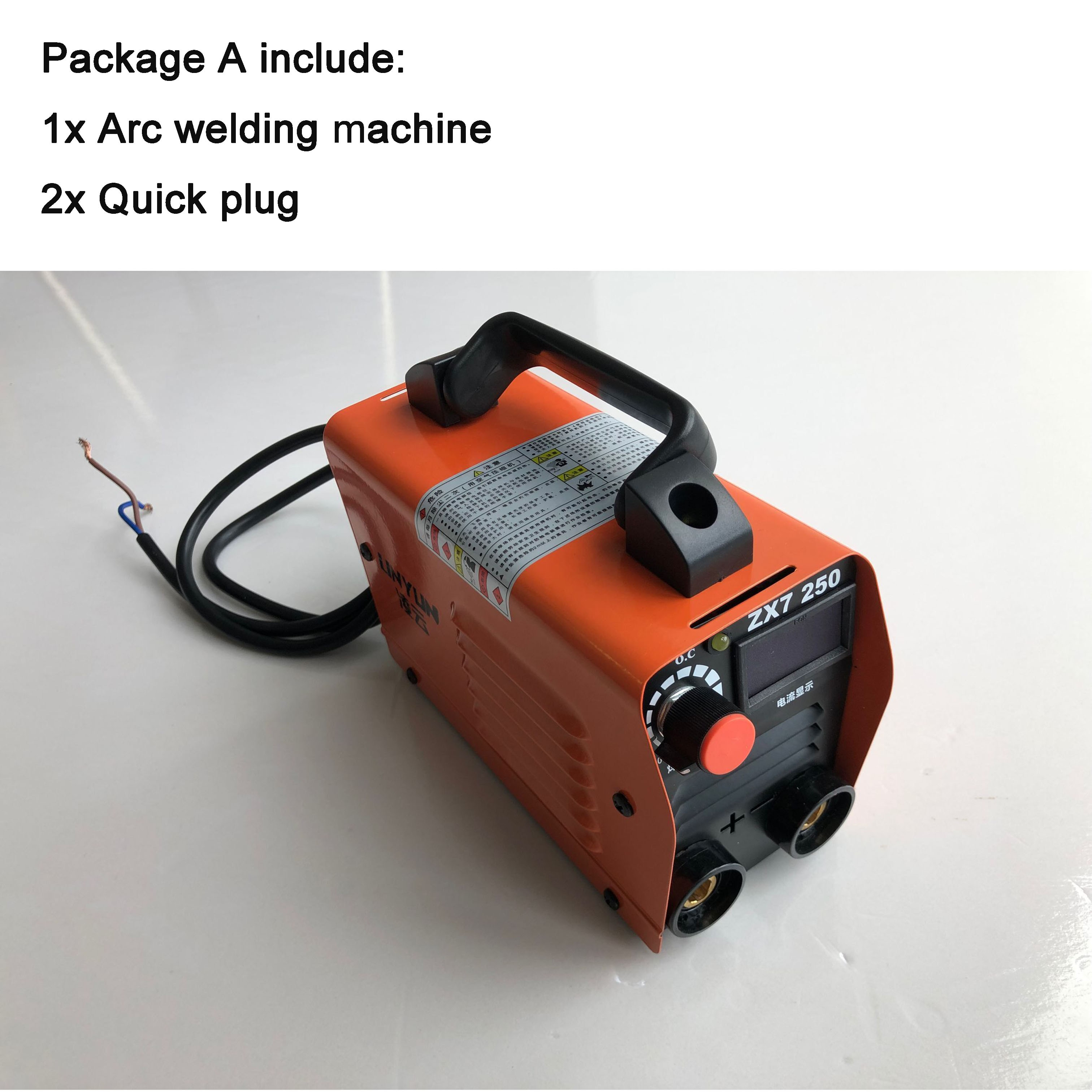 RU delivery 250V Compact Mini MMA Welder Inverter ARC Welding Machine Stick Welder
