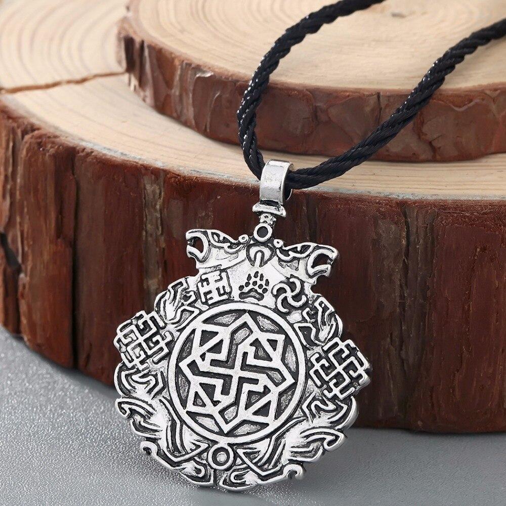 CHENGXUN, pendiente de Caballero de noche eslavo, amuleto, colgantes de sol, Valquiria nórdica, joyería vikinga, estilo Retro Vintage