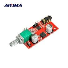 AIYIMA MAX4410 kulaklık amplifikatörü kurulu kulaklık amplifikatör Mini Amp ön amplifikatör tek akü güç