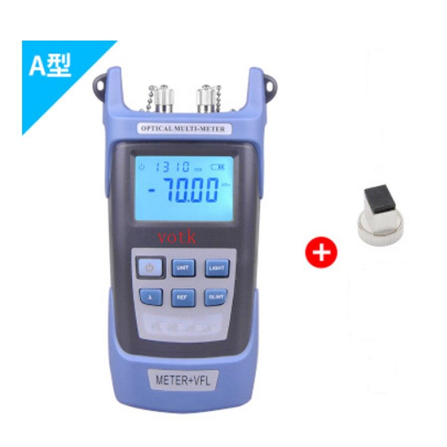 fiber Optical Power Meter+ 1MW Red light source Laser Fiber Optic Cable Tester visual fault detector
