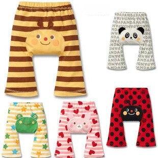 90pcs Children's PP Pants Stripe Cartoon Baby's Large Boy's Girl's Summer Animals Trousers trousers outdoor pants bluepants trousers  