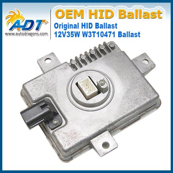 D2 Xenon HID faros encendedor X6T02981 X6T02971 W3T11371 W3T10471 Control inversor OEM balasto 2004 2005 para Acura RL