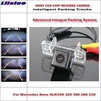 car reverse rear view camera for mercedes benz slk350 320 300 backup parking intelligent dynamic tracks