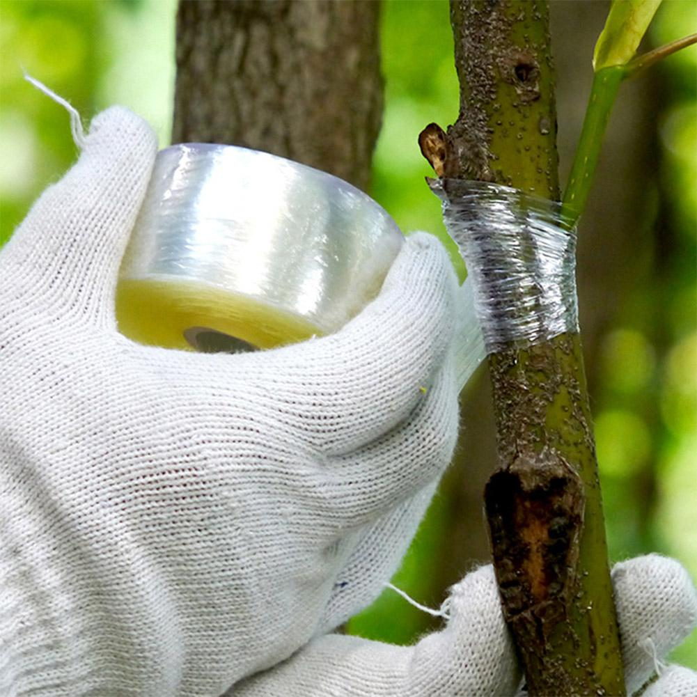 100 м самоклеющаяся лента для садовой фруктовой ветки, прививочная пленка