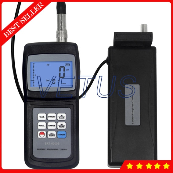 أداة قياس خشونة السطح الرقمية SRT6200S ، مع أداة من النوع المنفصل