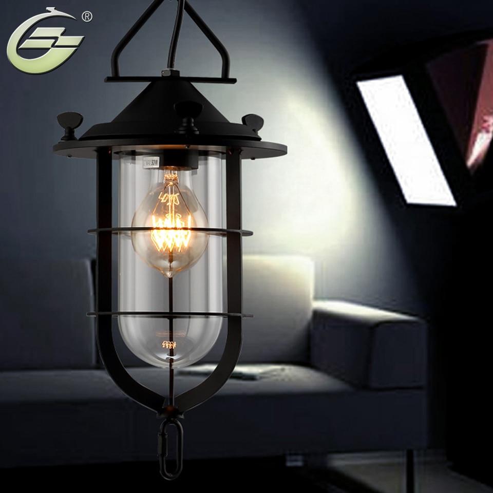 New Loft rh Vintage Rustic American Style Lighting Pendant Light Free shipping YSL-1856P