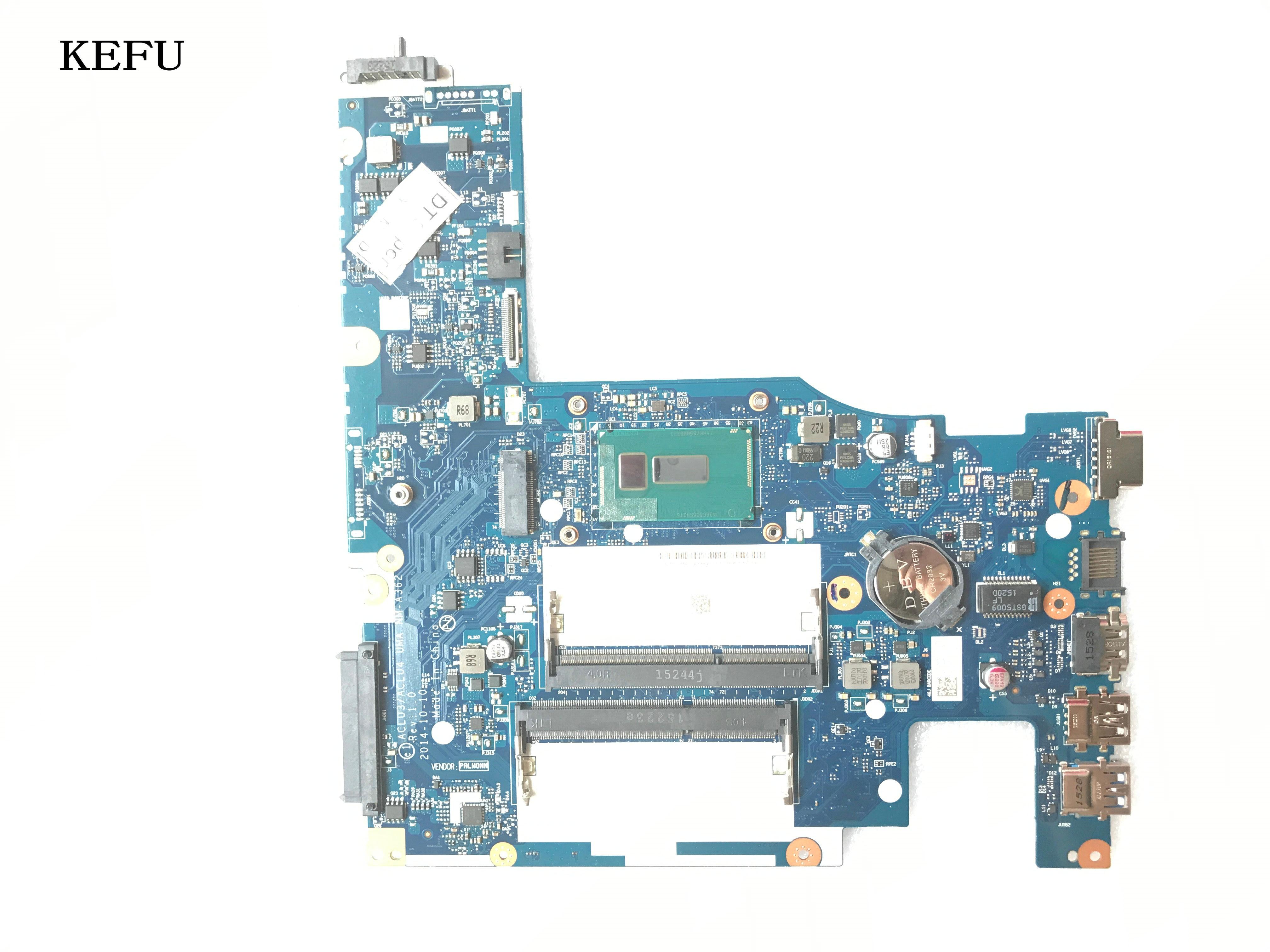 Nueva placa base ACLU3/ ACLU4 UMA NM-A362 / NM-A272 para LENOVO G50-80 / G50-70 placa madre del cuaderno, procesador I3-4030U