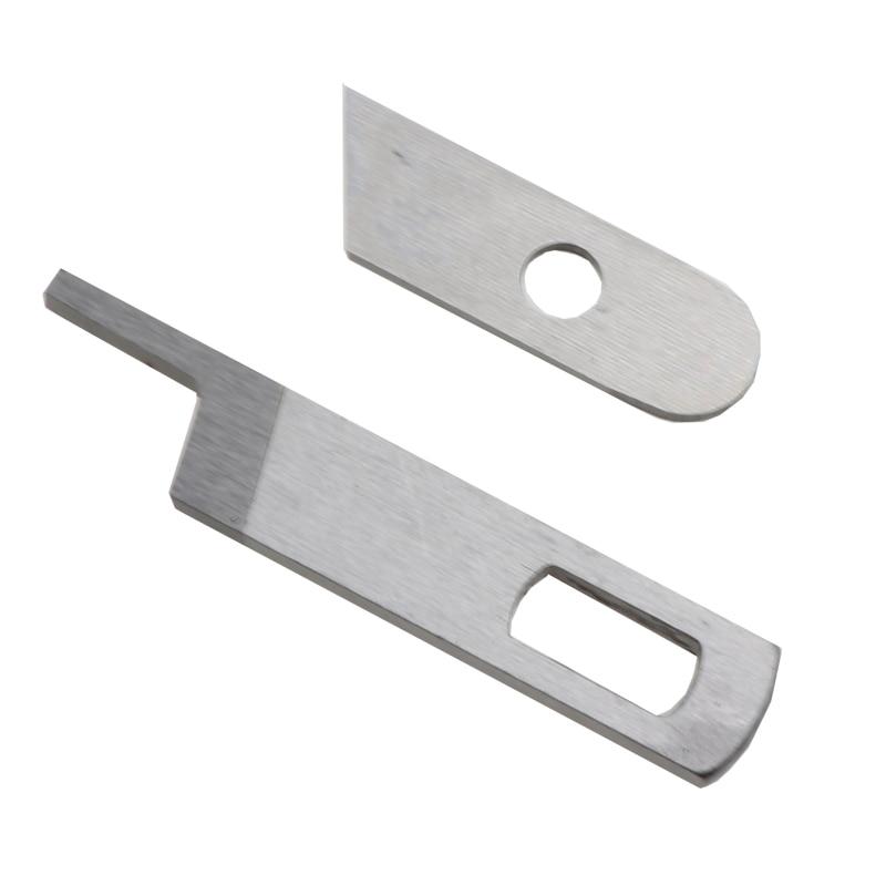 SINGER SERGER-máquina de OVERLOCK 14CG754, cuchillas de cuchillos superiores e inferiores #412585...