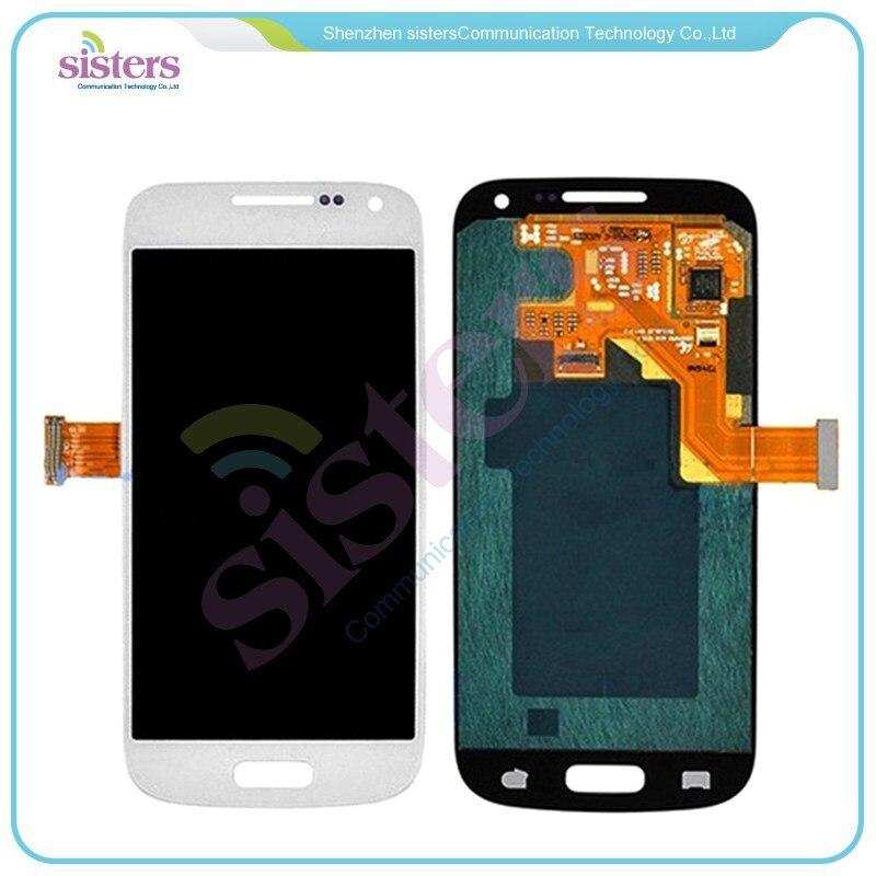 Оптовая продажа, 2 шт., серый/белый ЖК-дисплей с дигитайзером в сборе для Samsung Galaxy S4 Mini i9190 i9192 i9195, бесплатная доставка