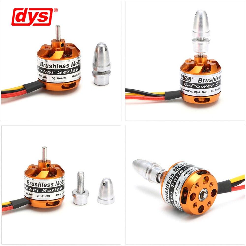 4 шт./лот DYS D2826 930KV 1000KV 1400KV 2200KV бесщеточный двигатель для радиоуправляемого самолета Модель дистанционного управления