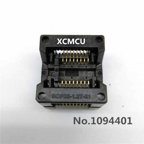 Adaptador 1pcs * SOP16 Queimar no Soquete IC Socket Test OTS-20-1.27-01 Pitch 1.27 milímetros
