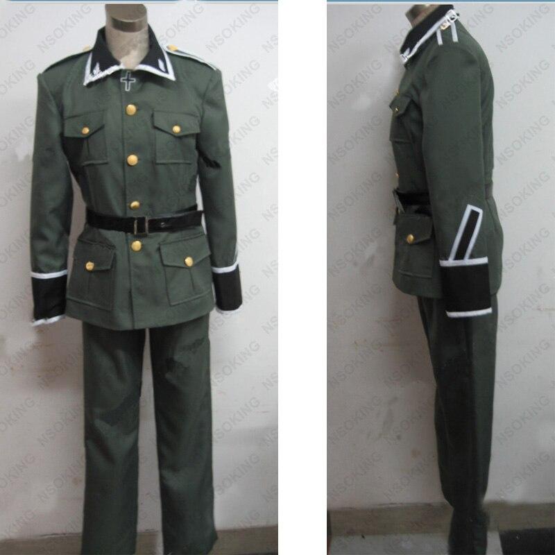 Anime Axis Powers Hetalia APH Ludwig Deutschland uniform Cosplay Kostüm Nach Maß
