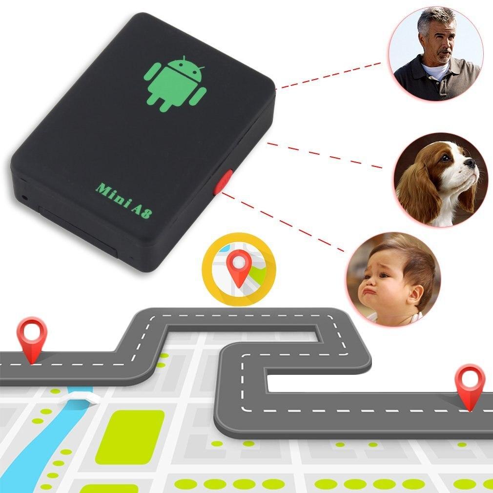 Mini rastreador gps a8 global, ferramenta de rastreamento de carro à prova d água, rastreador automático em tempo real, gsm/gprs/gps carro de animais para crianças