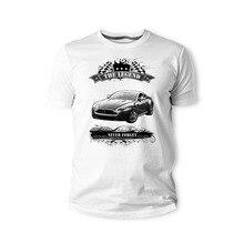 2019 Summer T Shirt  T-Shirt, British Classic Legend Car Zagato Rapide V8 Vantage N420 2015 Youngtimer Oldtimer Herren T shirt