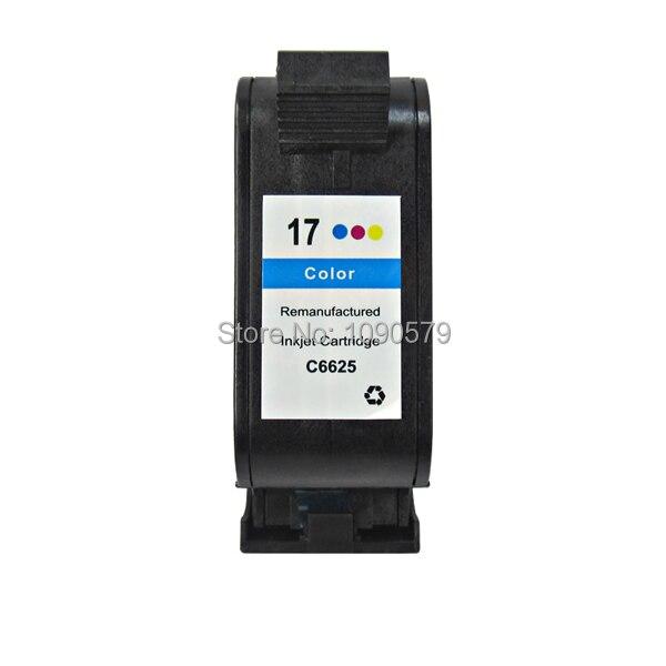 Remanufacturados C6625A cartucho de tinta para HP17 HPDeskjet HP825C... 825Cvr... 840C... 841C... 842C... 843C... 845C... 845Cvr